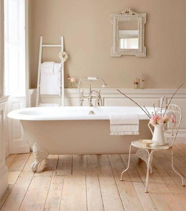 Un bagno romantico in stile shabby chic il tuo sogno - Bagno romantico ...