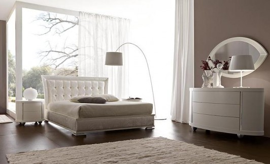 Puro ed essenziale arredare la camera da letto con il bianco - Scavolini camera da letto ...