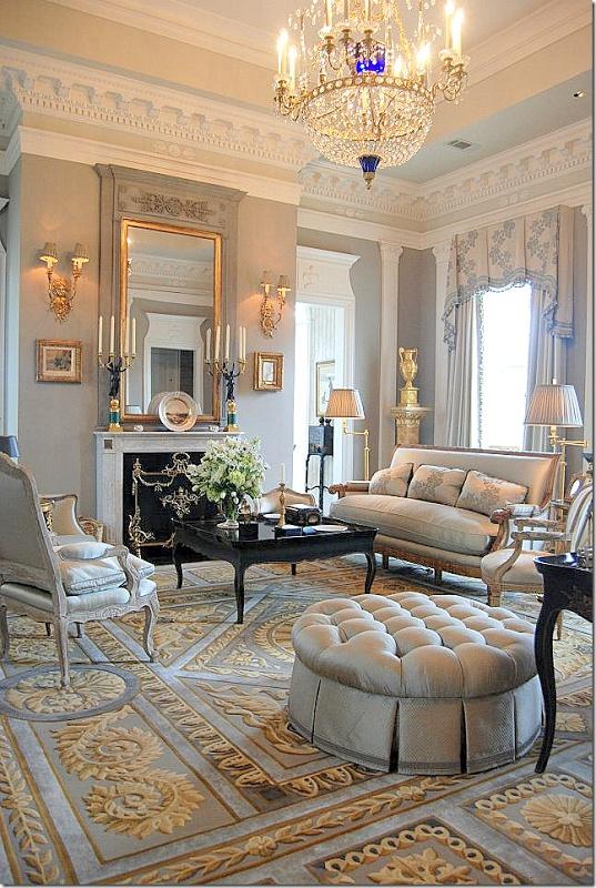 French d cor lo stile parigino for Classic contemporary interior design definition
