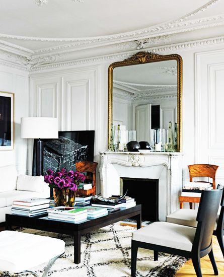 Beautiful Condo Living Rooms: French Décor, Lo Stile Parigino