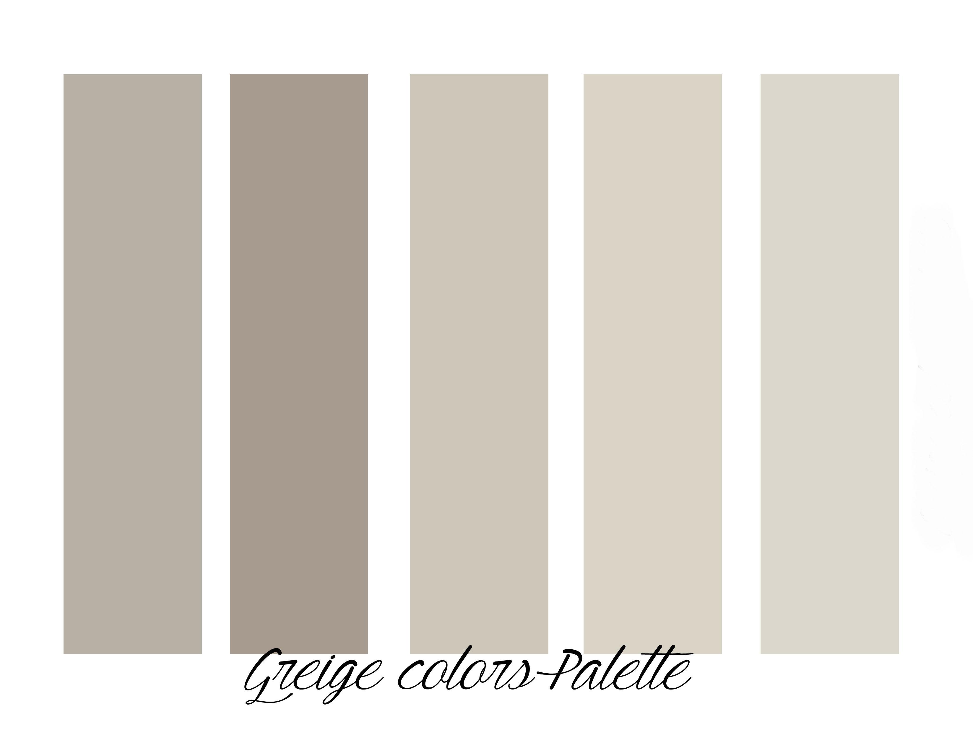 Good qui di seguito la mia greige color palette vedi pi - Lds pannelli decorativi ...