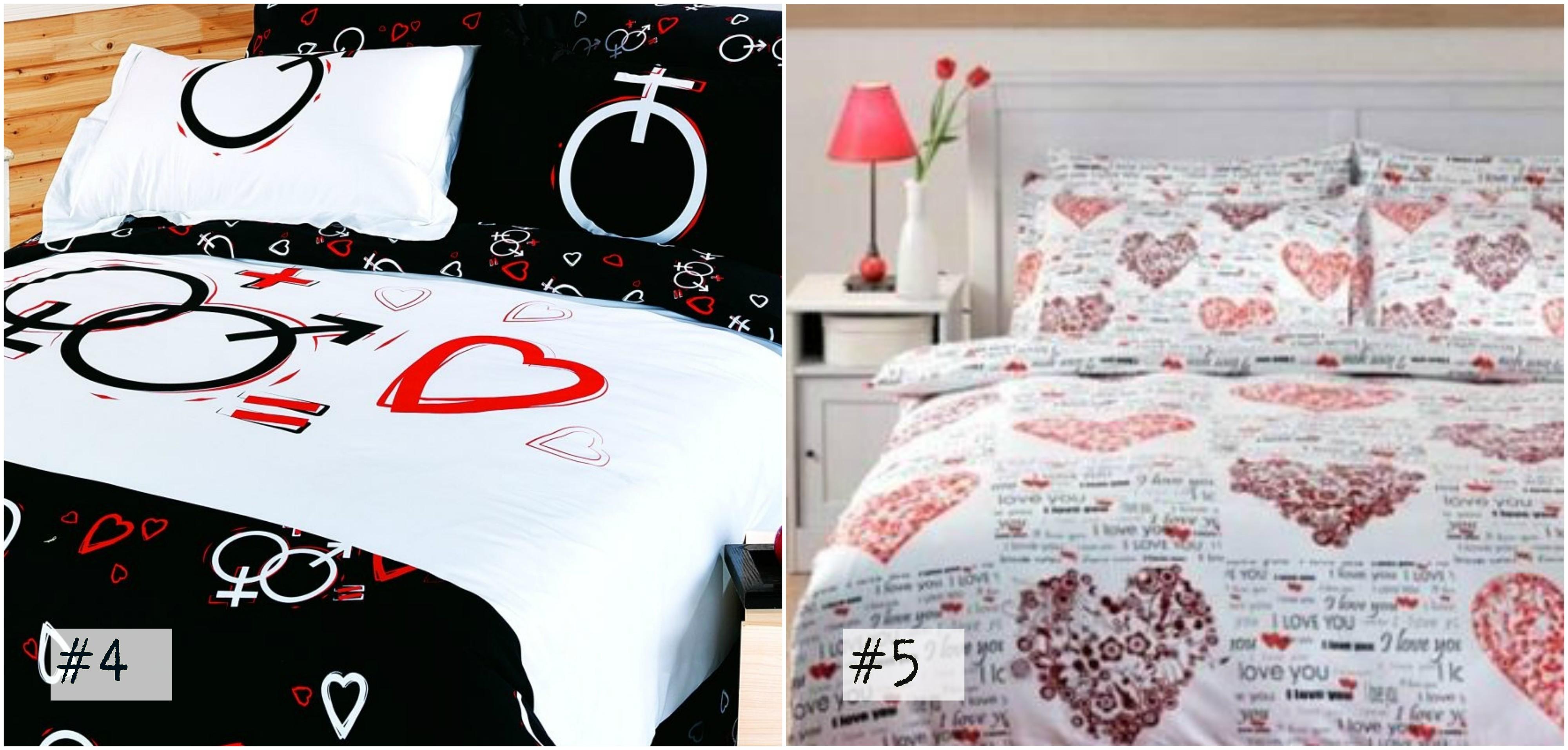 San valentino 25 fantastiche idee per la stanza da letto - Impazzire a letto ...