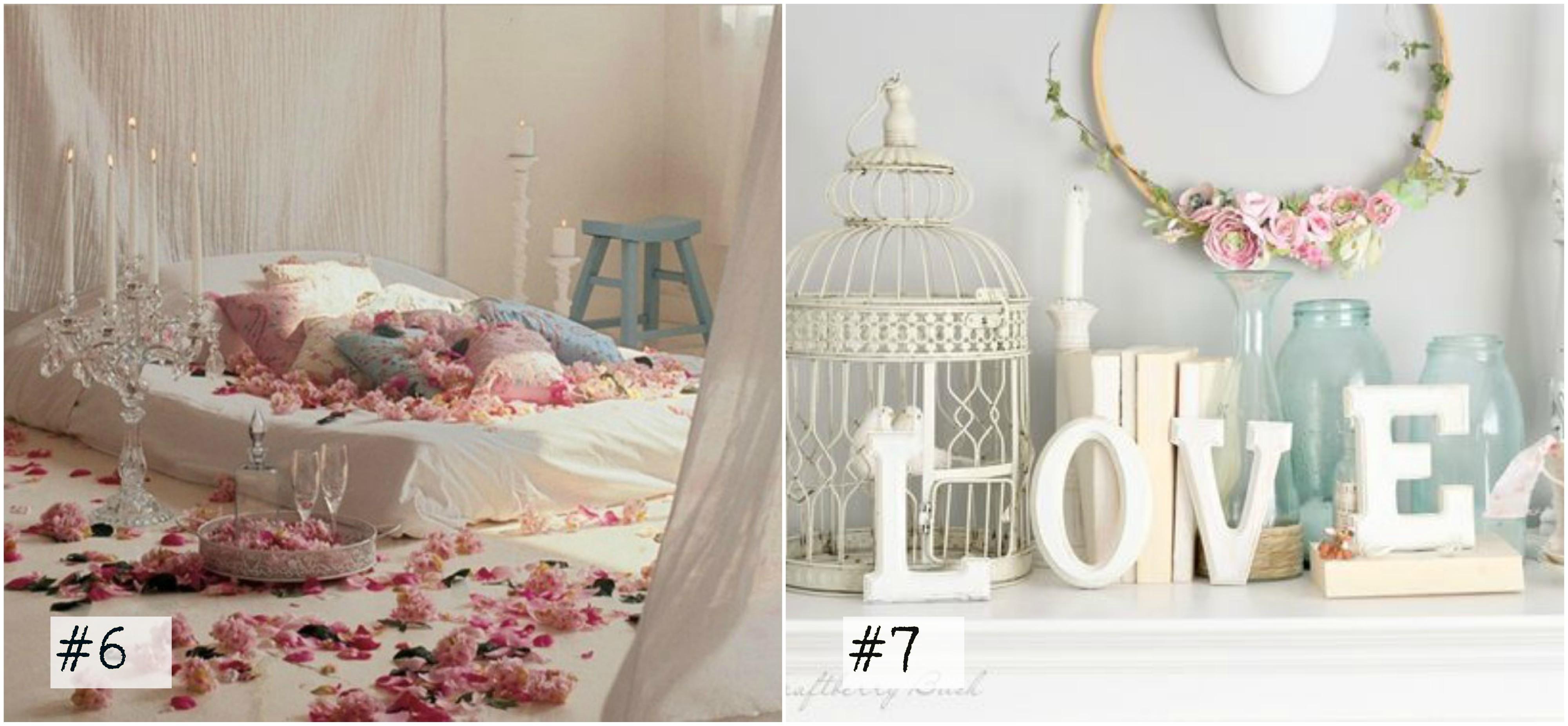 San valentino 25 fantastiche idee per la stanza da letto - Stanza da letto romantica ...
