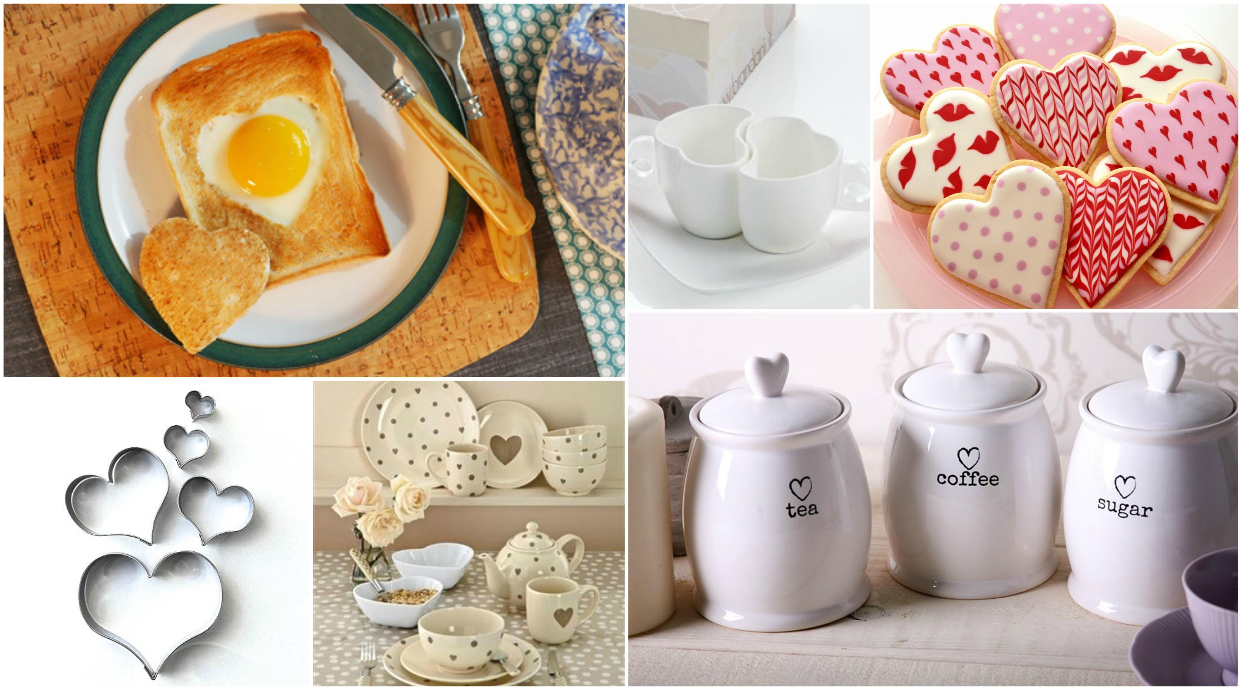 San Valentino: 20 Accessori per la cucina a forma di Cuore! | Home ...