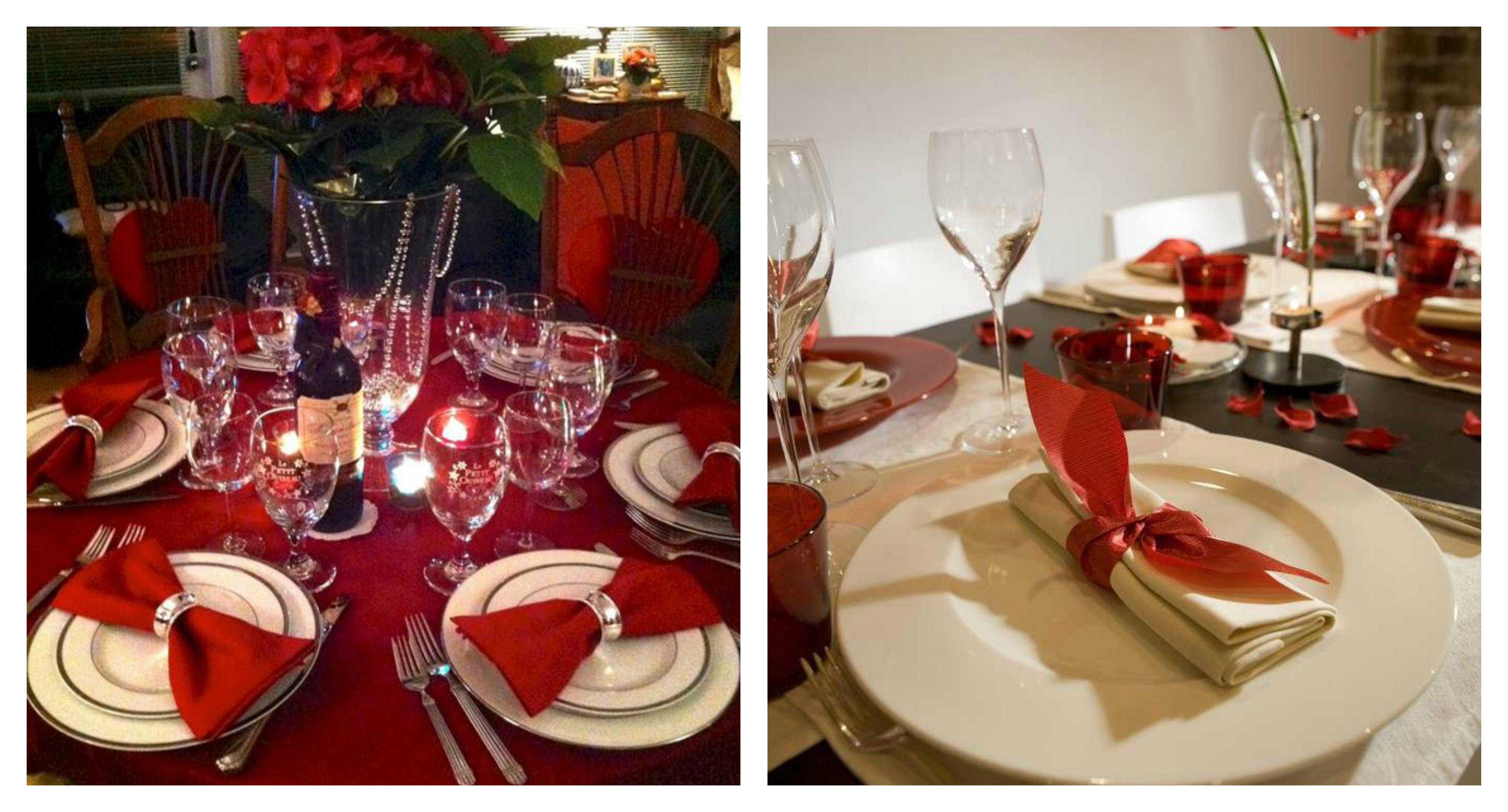 35 idee originali e romantiche per la tavola di san valentino - Tavola di san valentino ...