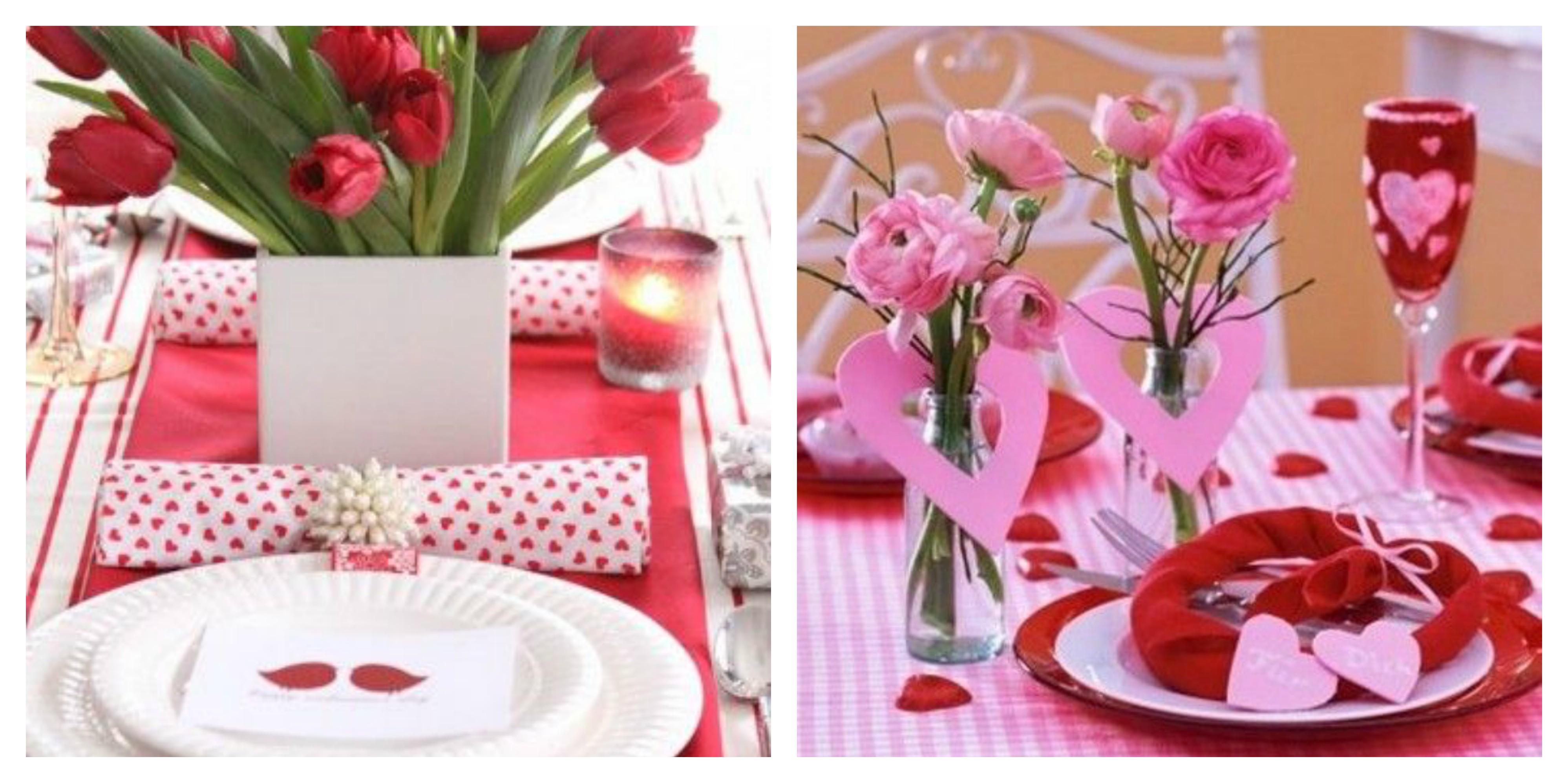 35 idee originali e romantiche per la tavola di san valentino - Idee tavola san valentino ...