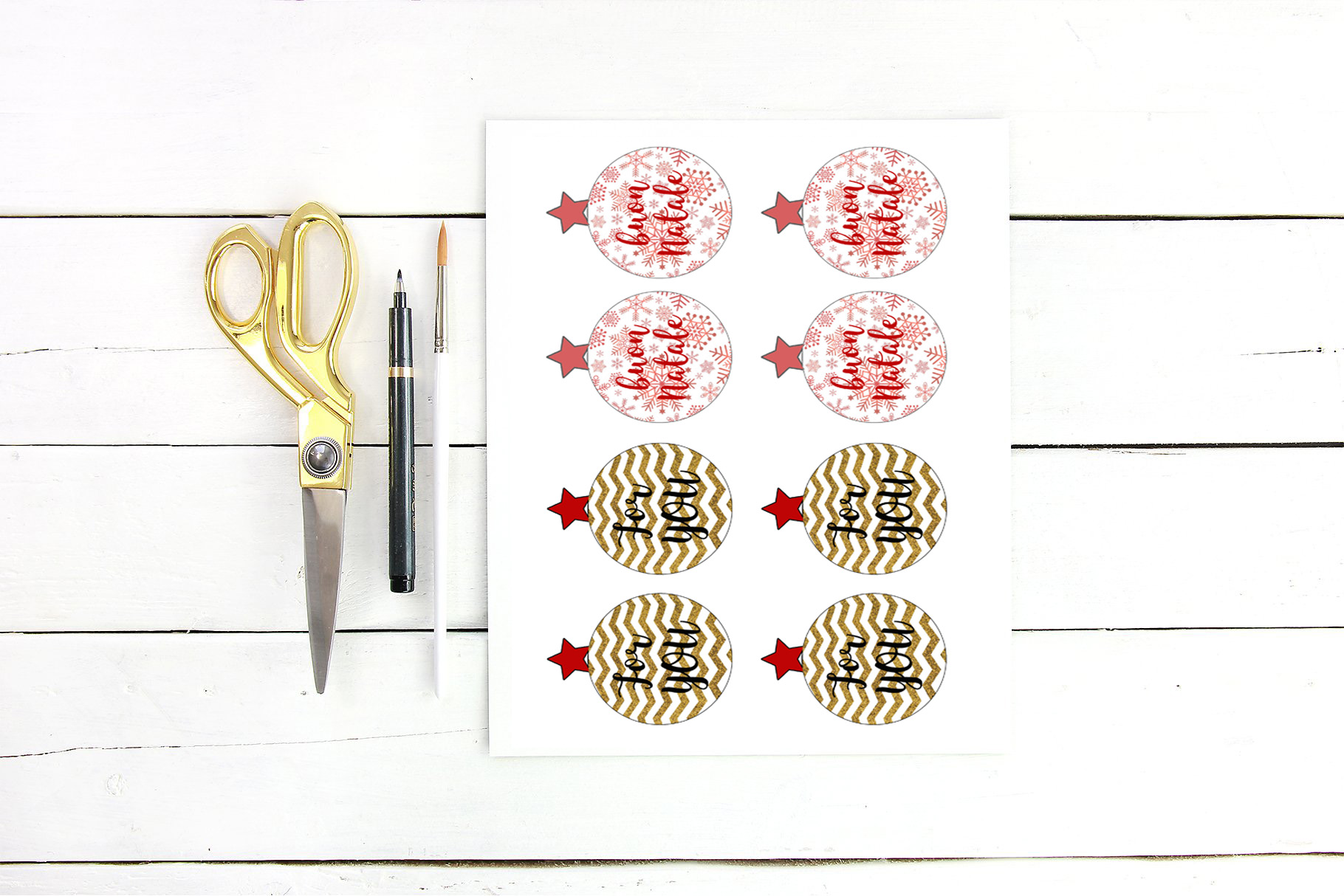 Etichette Natalizie Da Stampare 44 etichette natalizie gratuite per personalizzare i tuoi