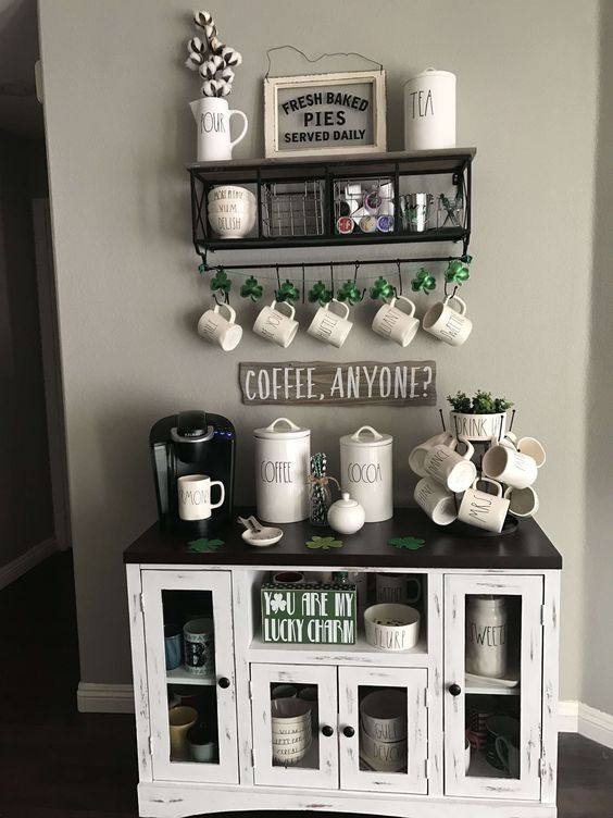 Allestire un angolo caffè in casa
