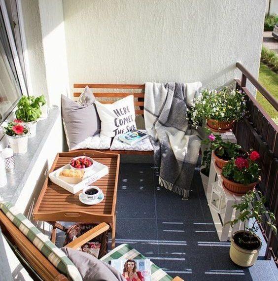 idee per balcone piccolo