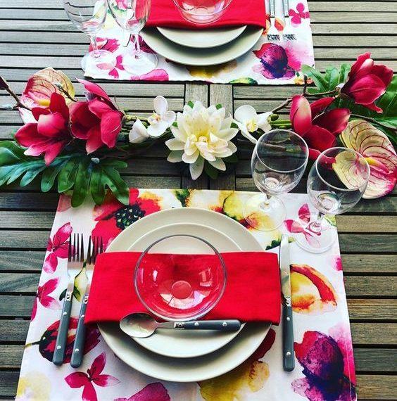 idea per tavola estiva